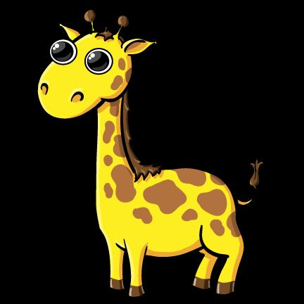 Pice clipart giraffe #14