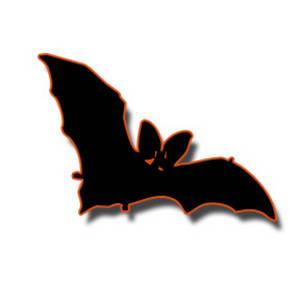 Bat clipart orange Clipart Bay Orange Bat Halloween