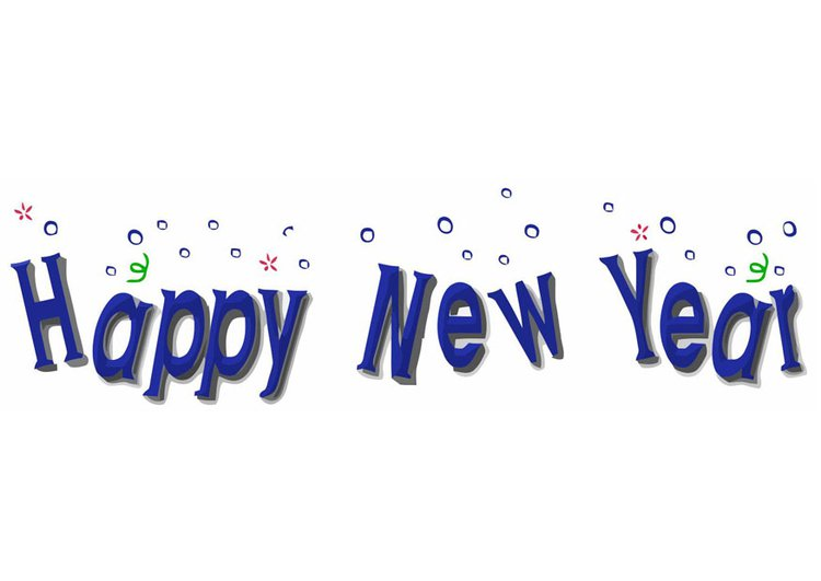 Small clipart happy new year New Year Happy New Img