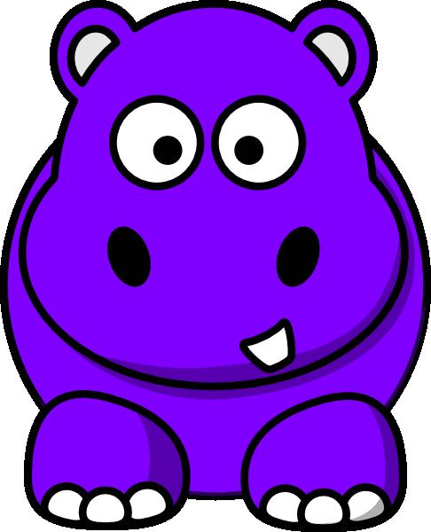 Small clipart hippo At art public com Art