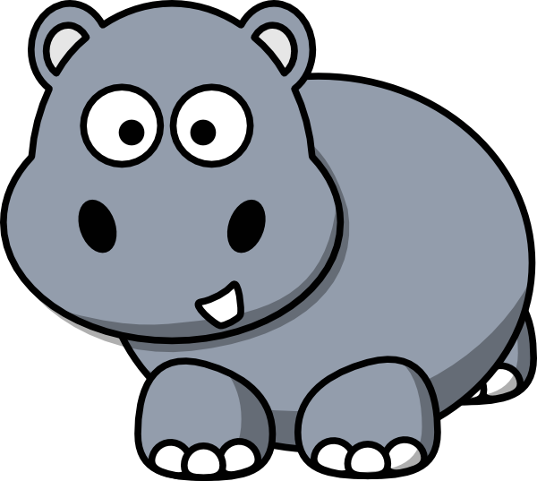 Small clipart hippo Clip Side art at ·