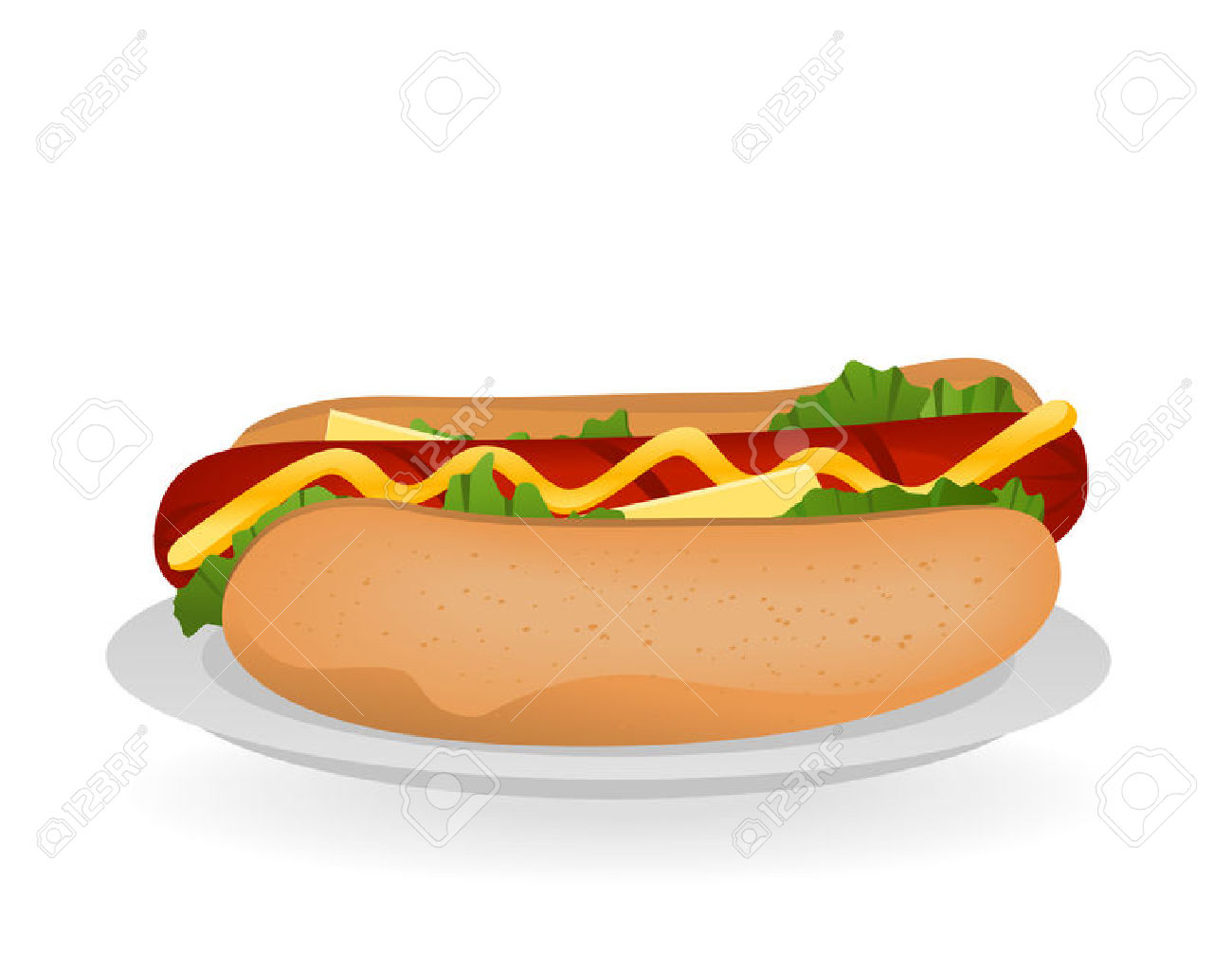 Sandwich clipart plate food Clip Clipart Print ClipartMe 4013