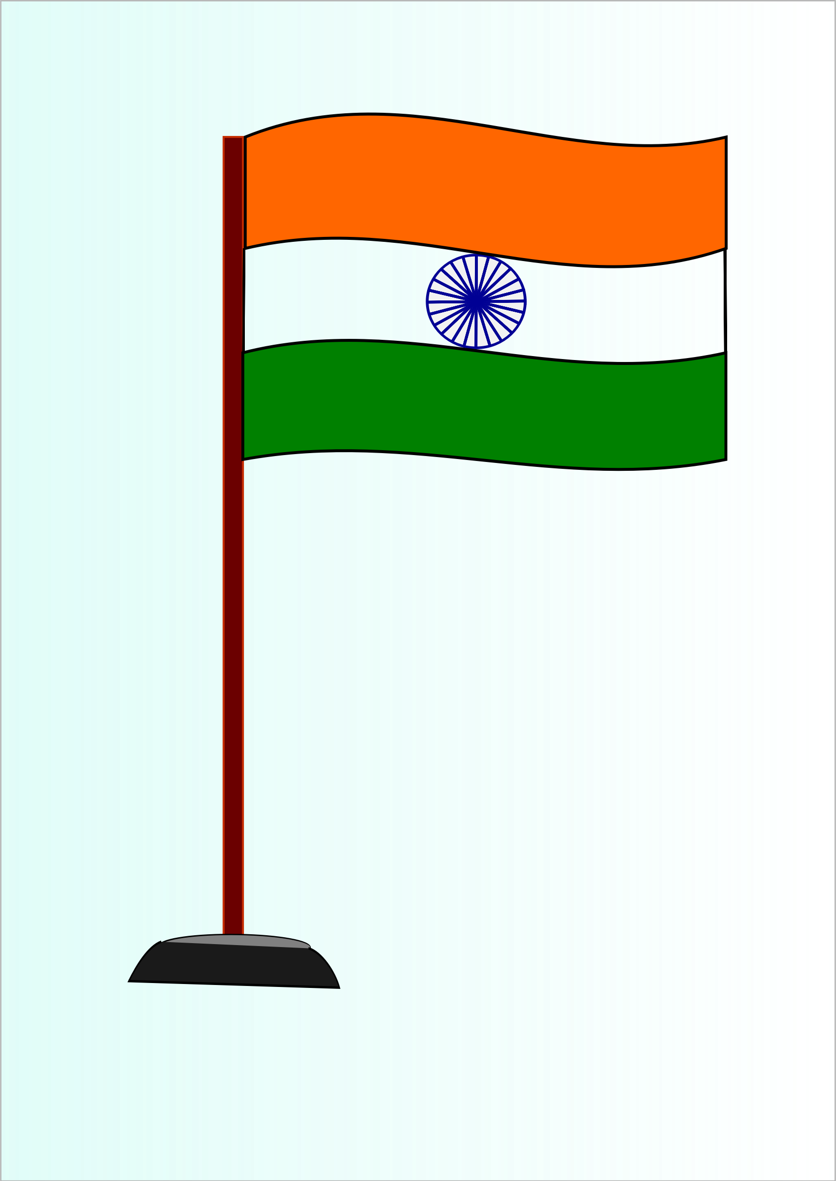 Small clipart indian Clipart Indian National Indian Flag