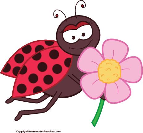 Bugs clipart flowery Save to Image Free Clipart