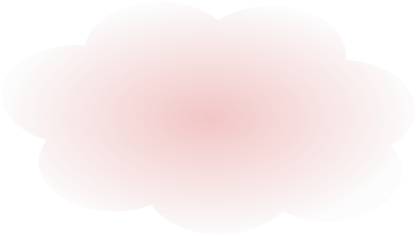 Small clipart light pink  Clouds PNG: vector ·