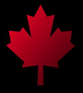 Small clipart maple leaf Canada Canada  Leaf Black