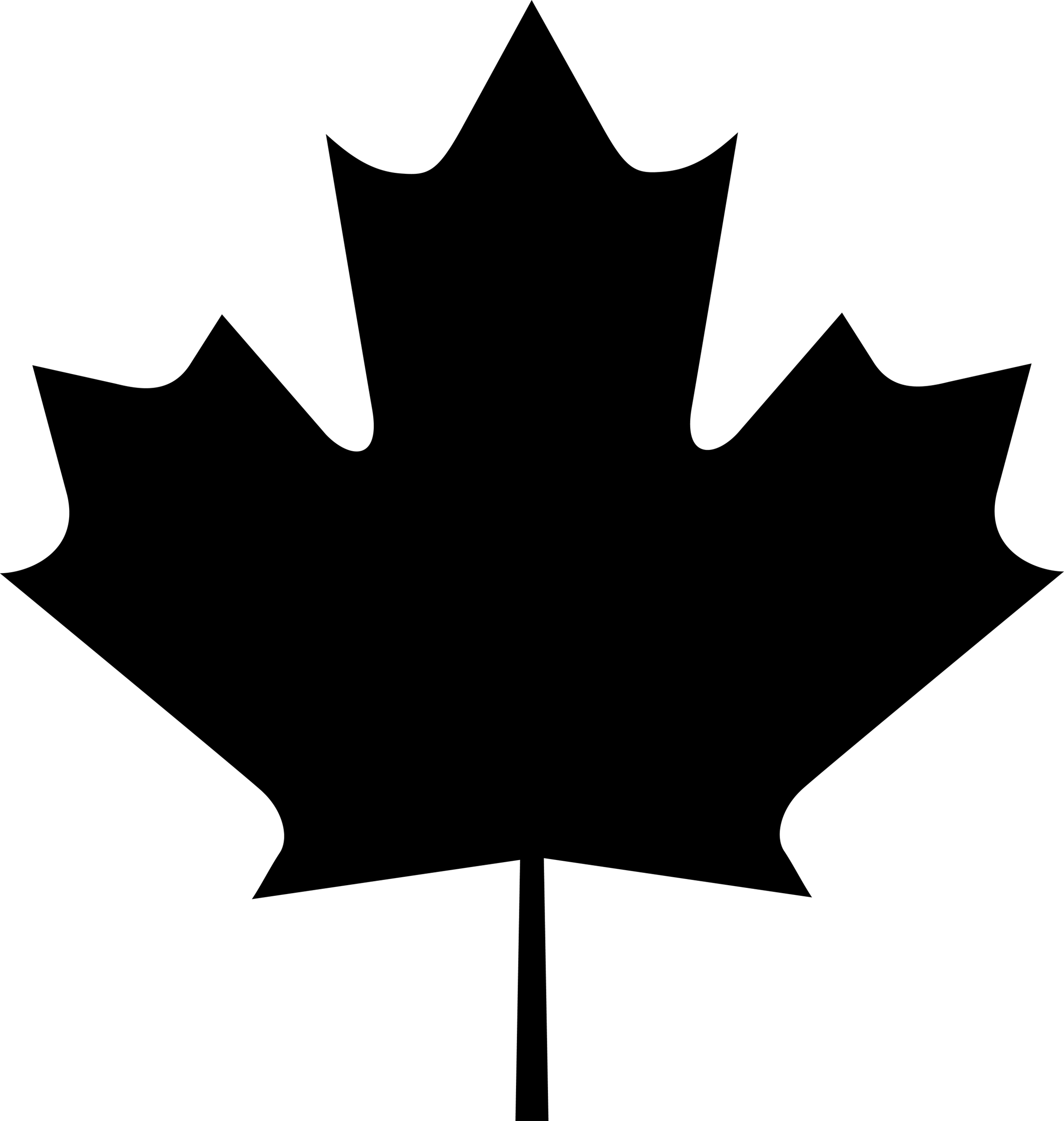 Small clipart maple leaf Canadian Leaf Leaf Art Download