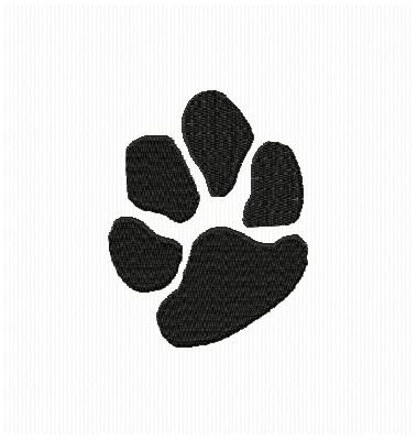 Small clipart paw print On Art Free Print Clip