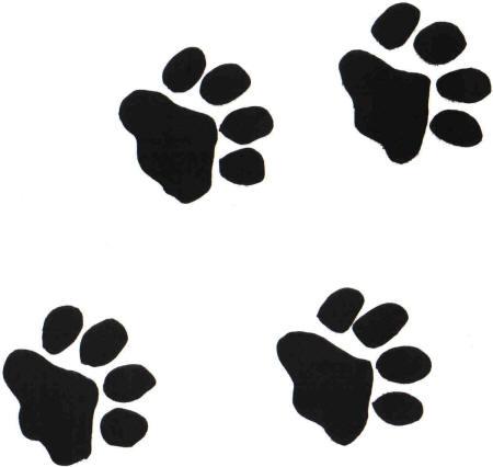 Small clipart paw print Free jpg PRINTS on Disney