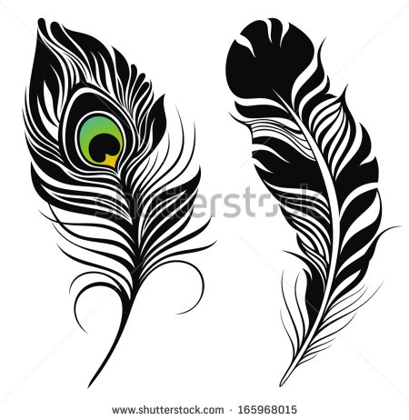 Small clipart peacock Mor feather png pankh collection