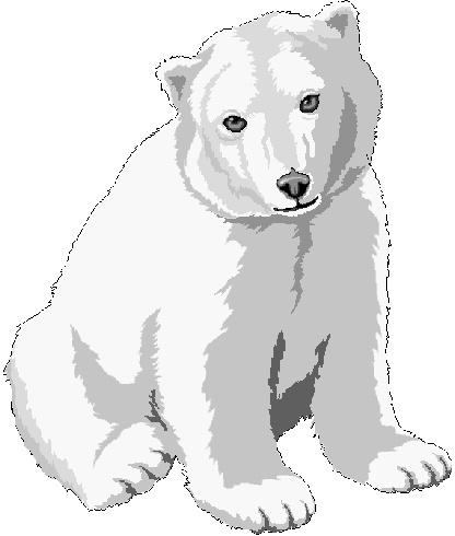 Small clipart polar bear Polar Graphics Free Images 25