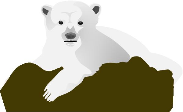 Small clipart polar bear Small Polar · The Clker