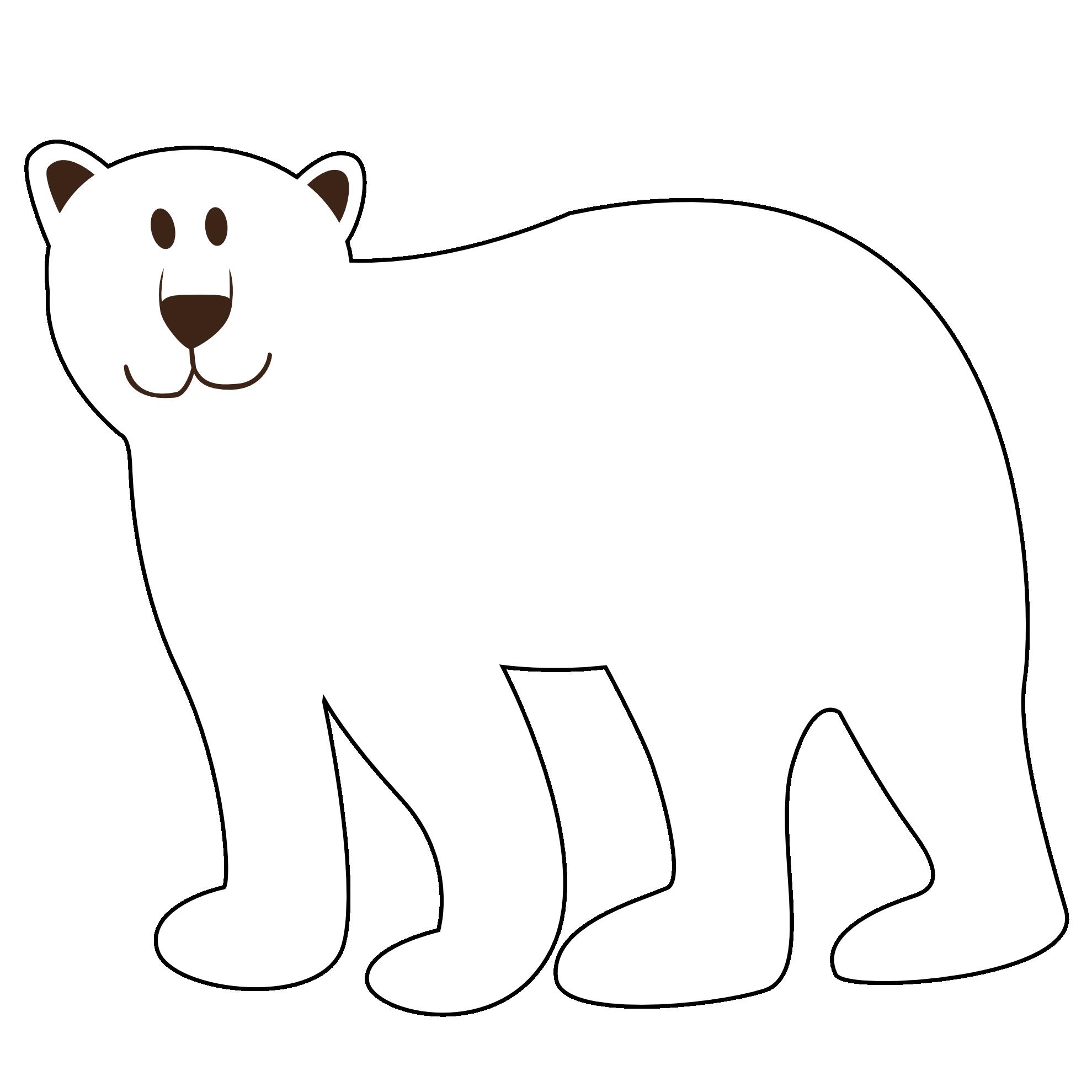 Small clipart polar bear Bear polar Polar pictures clipart