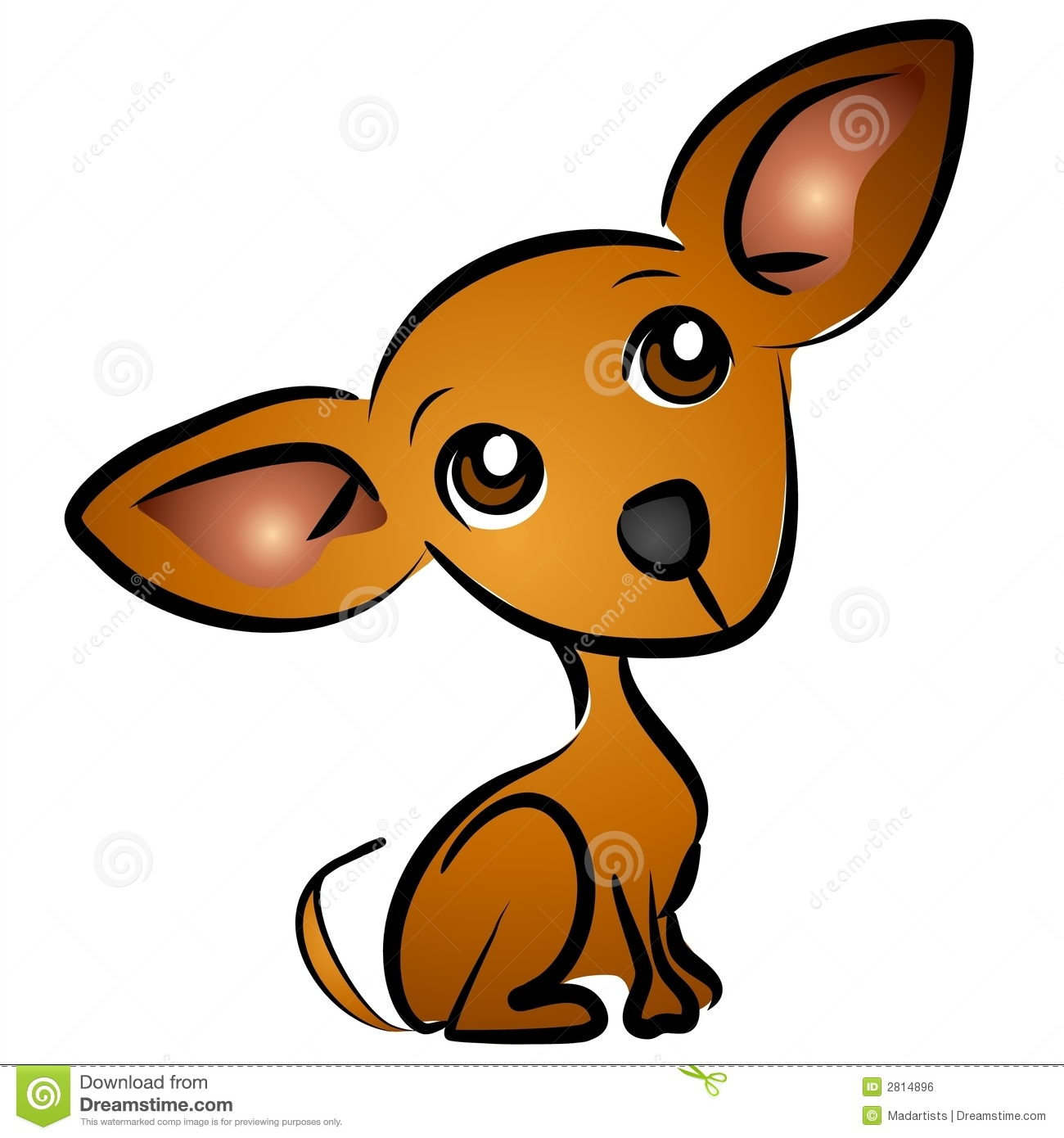 Chihuahua clipart cute Images Panda Free Clipart ·