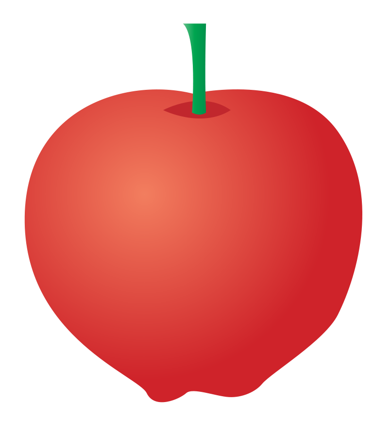 Apple clipart small apple Red red apple transparent apple