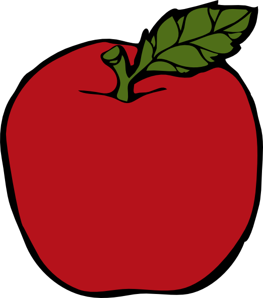 Apple clipart simple Royalty medium · Apple online