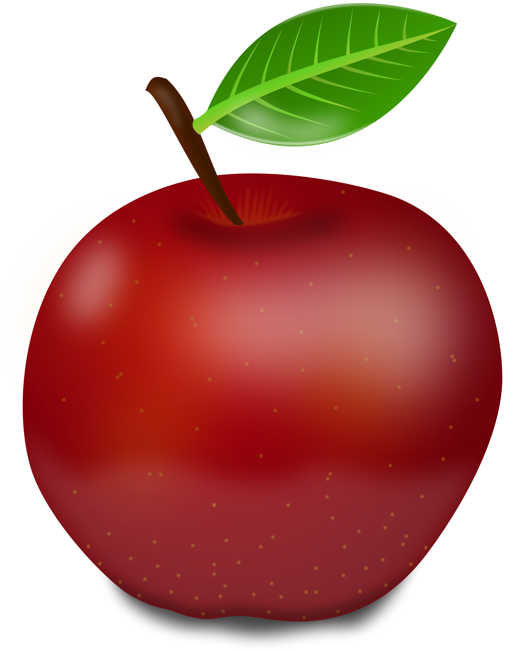 Apple clipart small apple Apple Clipart Red apple Red