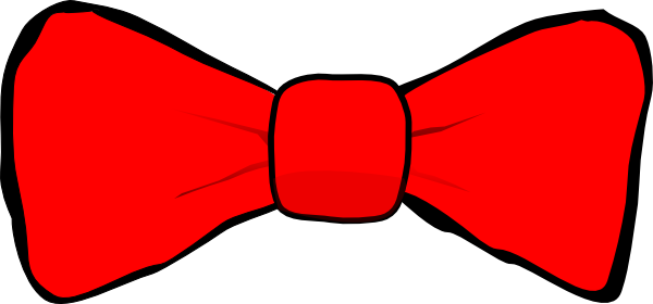 Small clipart red bow #15