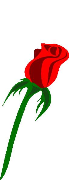 Bud clipart green rose Rose Red Bud medium online