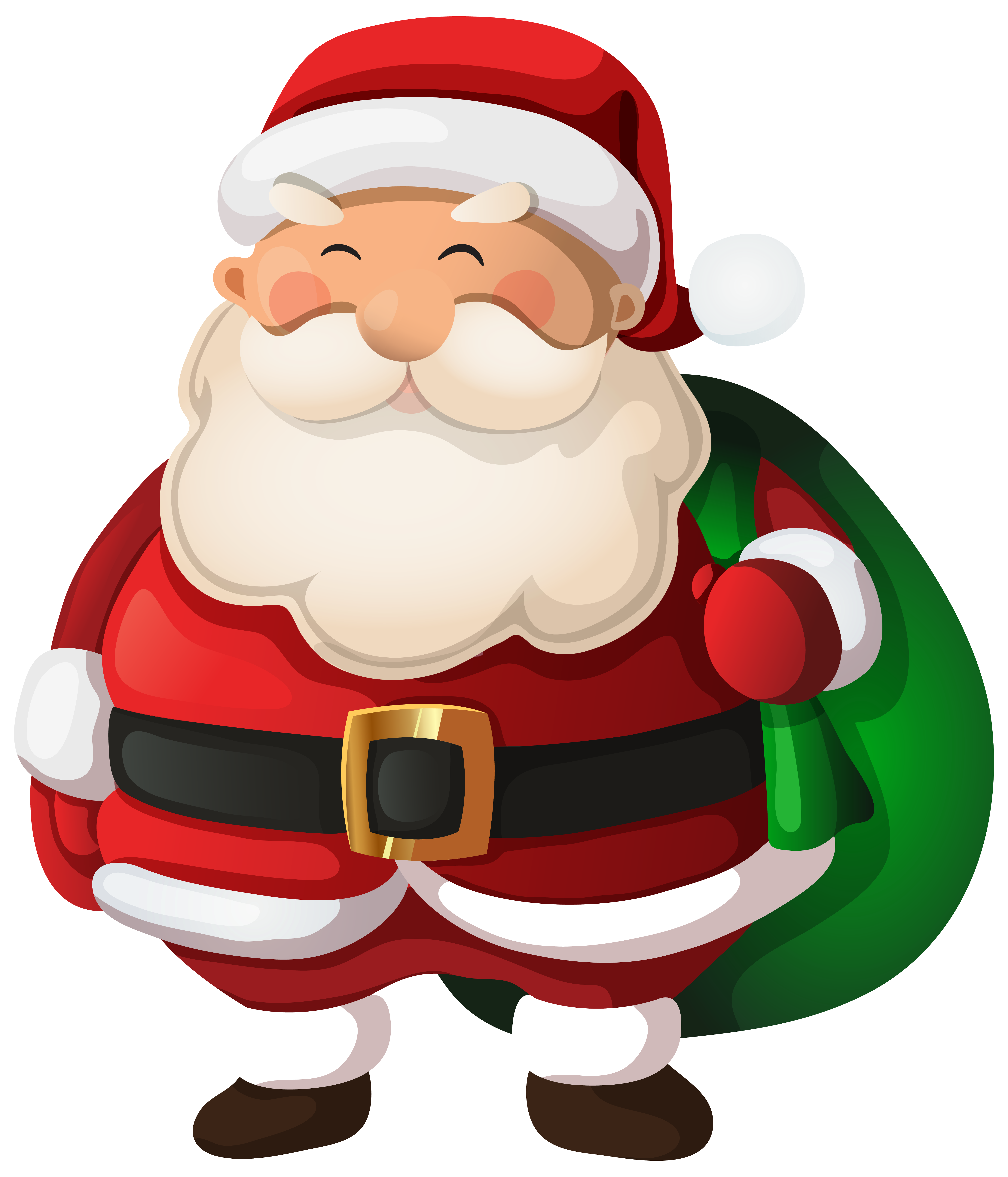 Santa clipart clous #1