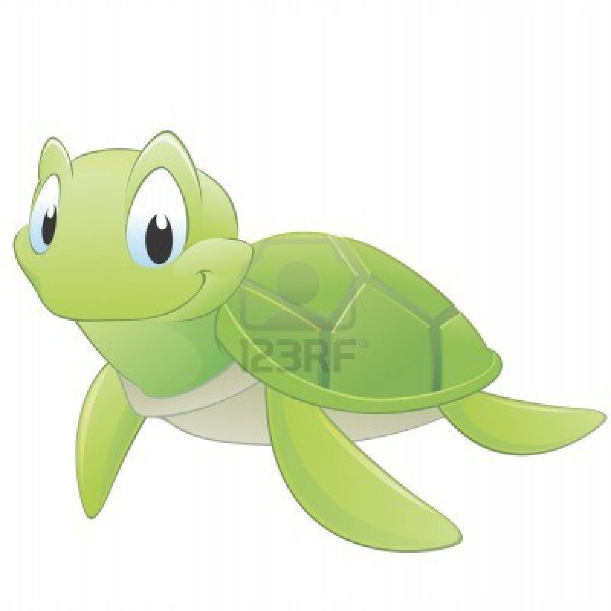 Sea Turtle clipart funny #2