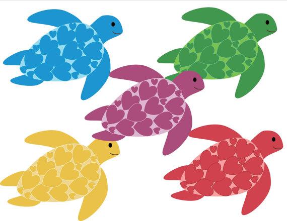 Turtle clipart small #4