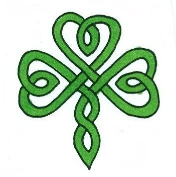 Celt clipart shamrock #2