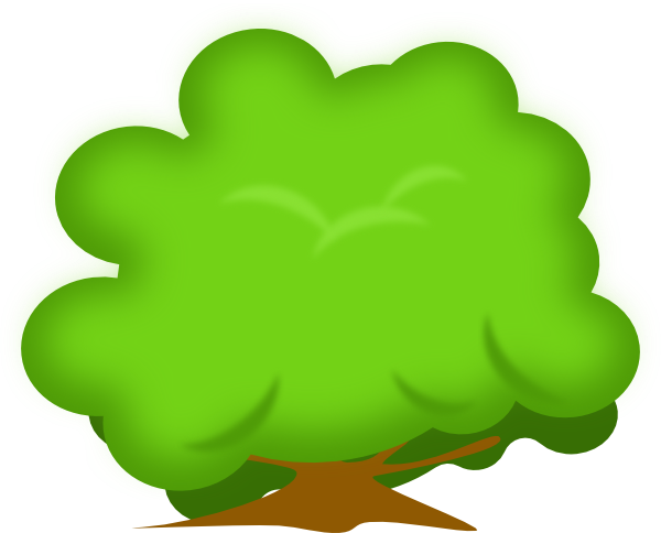 Plant clipart shrub Collection Bushes Bush and tree