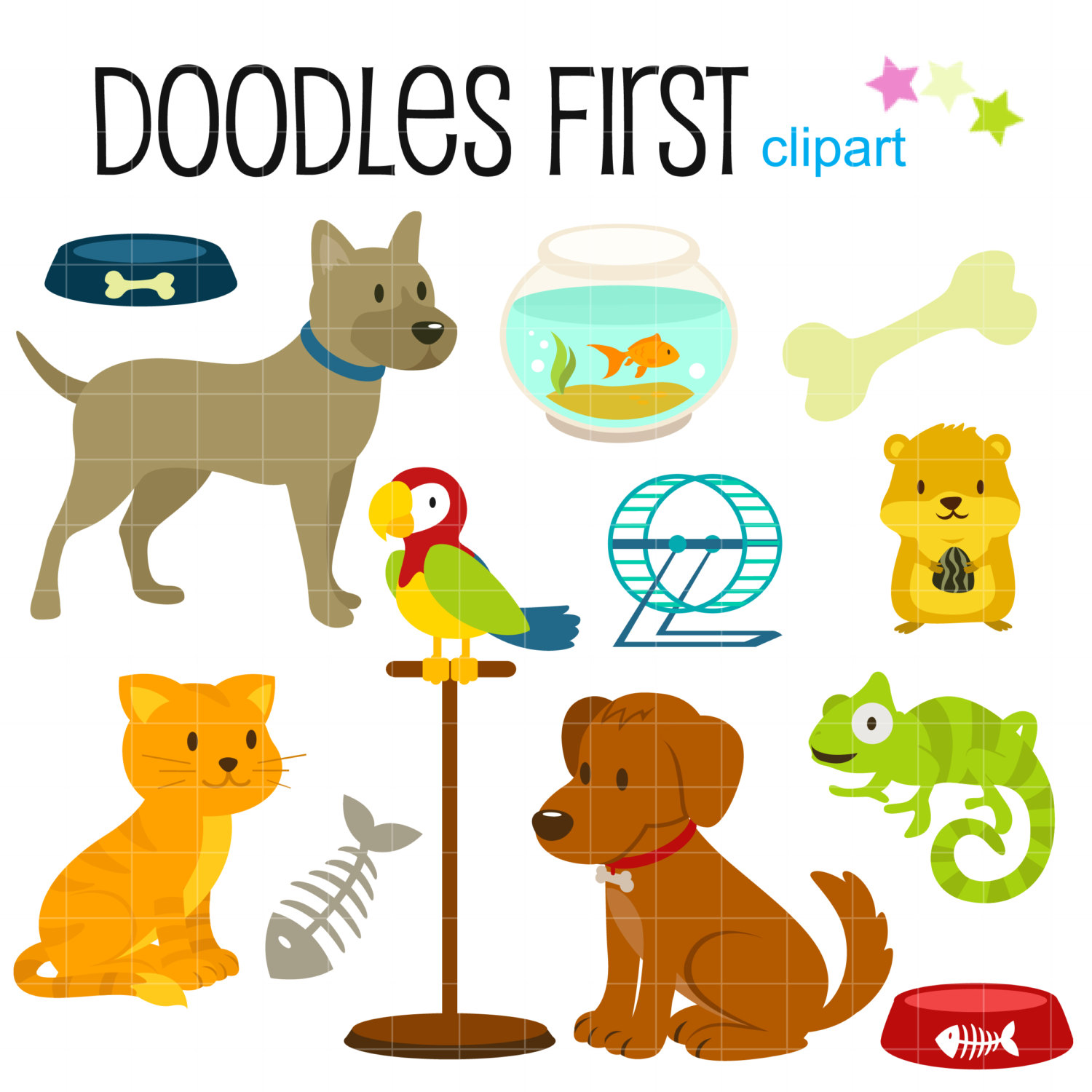 Small clipart small animal Scrapbooking Animals by Accesories for