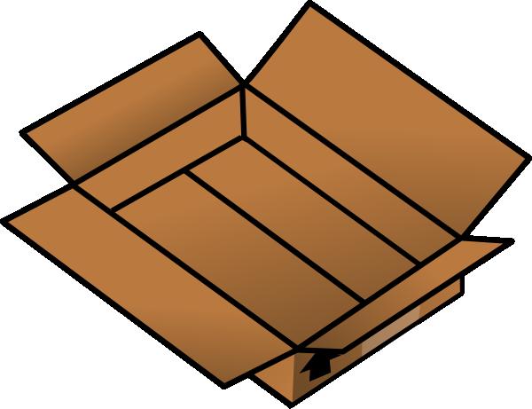 Box clipart cartoon Com  · Clker clip