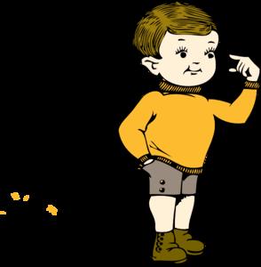 Boy clipart small boy Royalty vector Clker Art clip