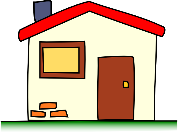 Hosue clipart transparent background Small House and collections Big