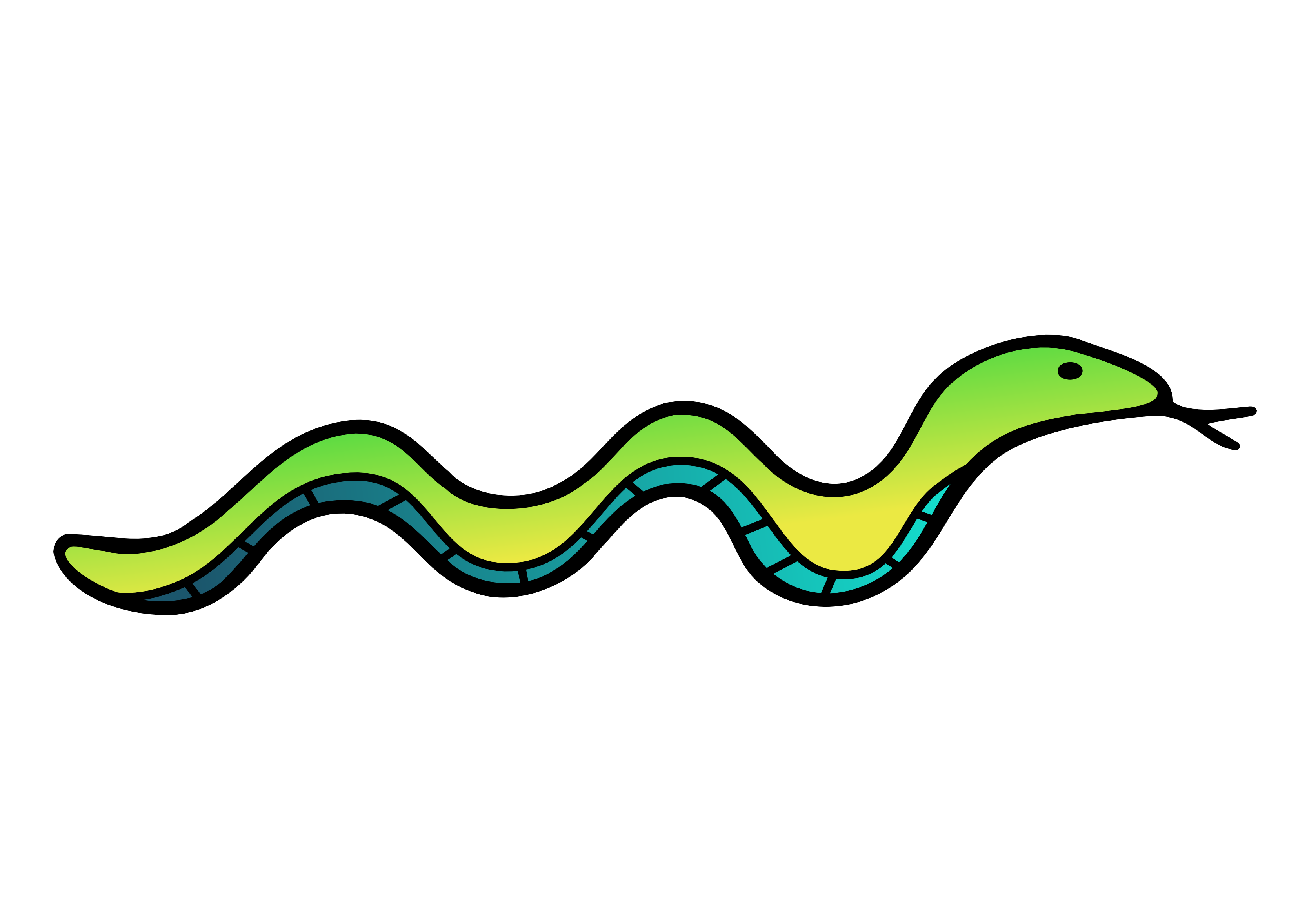 Worm clipart long straight #14