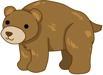 Small clipart standing bear Free Clipartix images clipart clipart