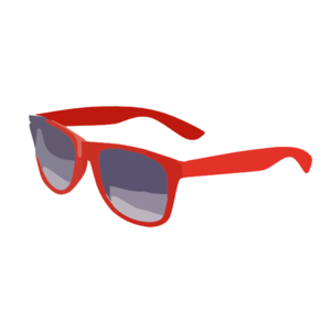 Small clipart sunglass Style The com Red