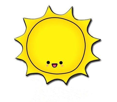 Adorable clipart sun Small (25+) art clip sun