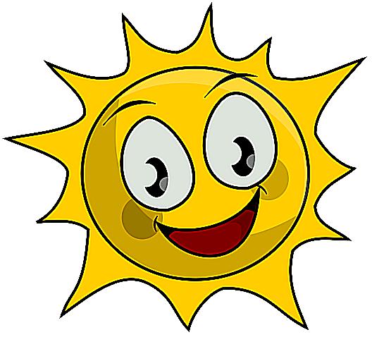 Small clipart sunshine Brighten sun of An to