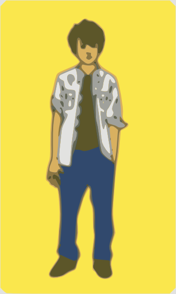 Small clipart tall boy Small Clker large  Art