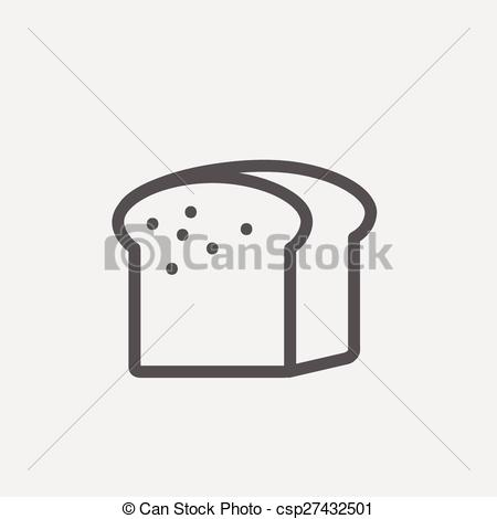 Small clipart thin Bread line Small Clipart loaf