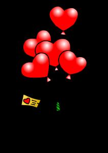 Hearts clipart tiny heart Heart heart Tiny Ballons Clipart