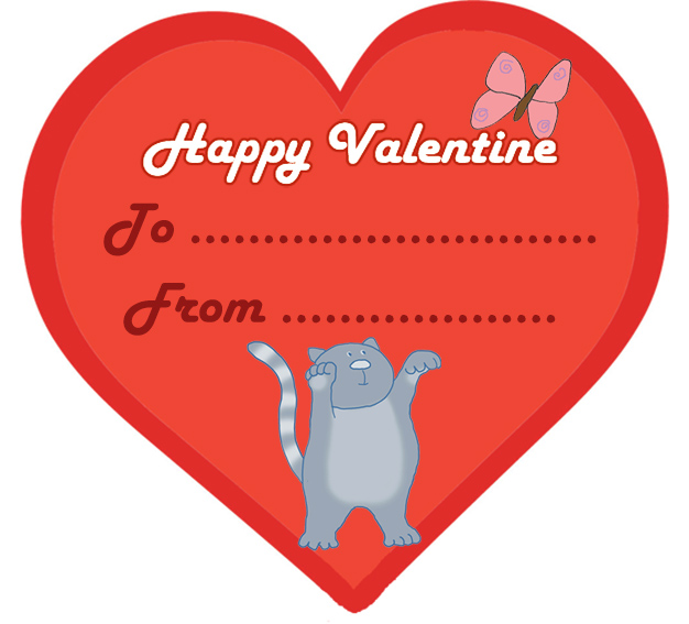 Small clipart valentine Card for Cute Valentine Cards