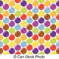 Smarties clipart Images Sugar Seamless 24 coated