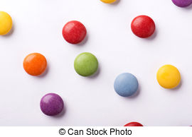 Smarties clipart Concept candies and Images Stock