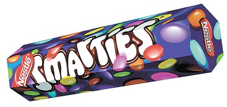 Smarties clipart british Normally second for Tesco were