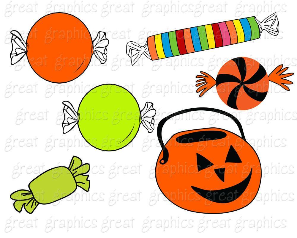 Candy clipart haloween Halloween Halloween Clipart Art Clipart