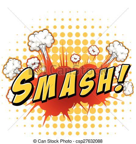Smash clipart Explosion Smash Vector EPS smash