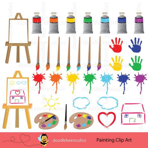 Splatter clipart artist painting Paint Clipart Craft Clipart splatter