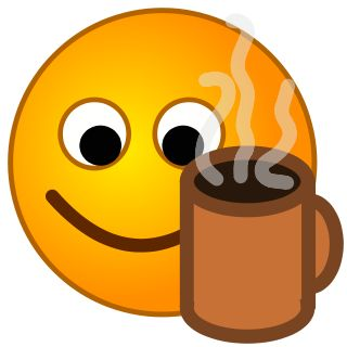 Coffee clipart smile Images all about Pinterest Faces