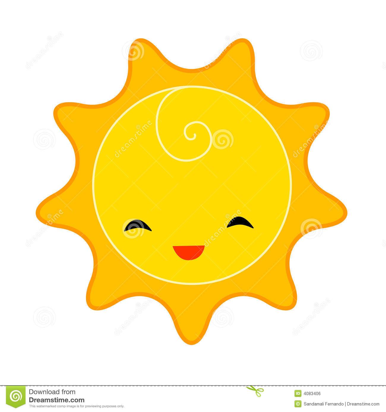 Adorable clipart sun Sun Free Clipart Smiling Cute