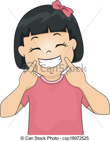 Ponytail clipart child smile Images Free Smile Clipart Free